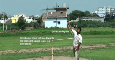 Types of Slow Bowling - Off spin Bowling