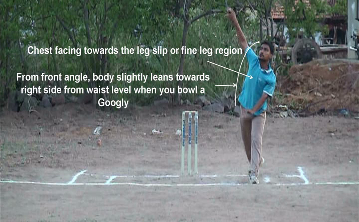 How to bowl a Googly